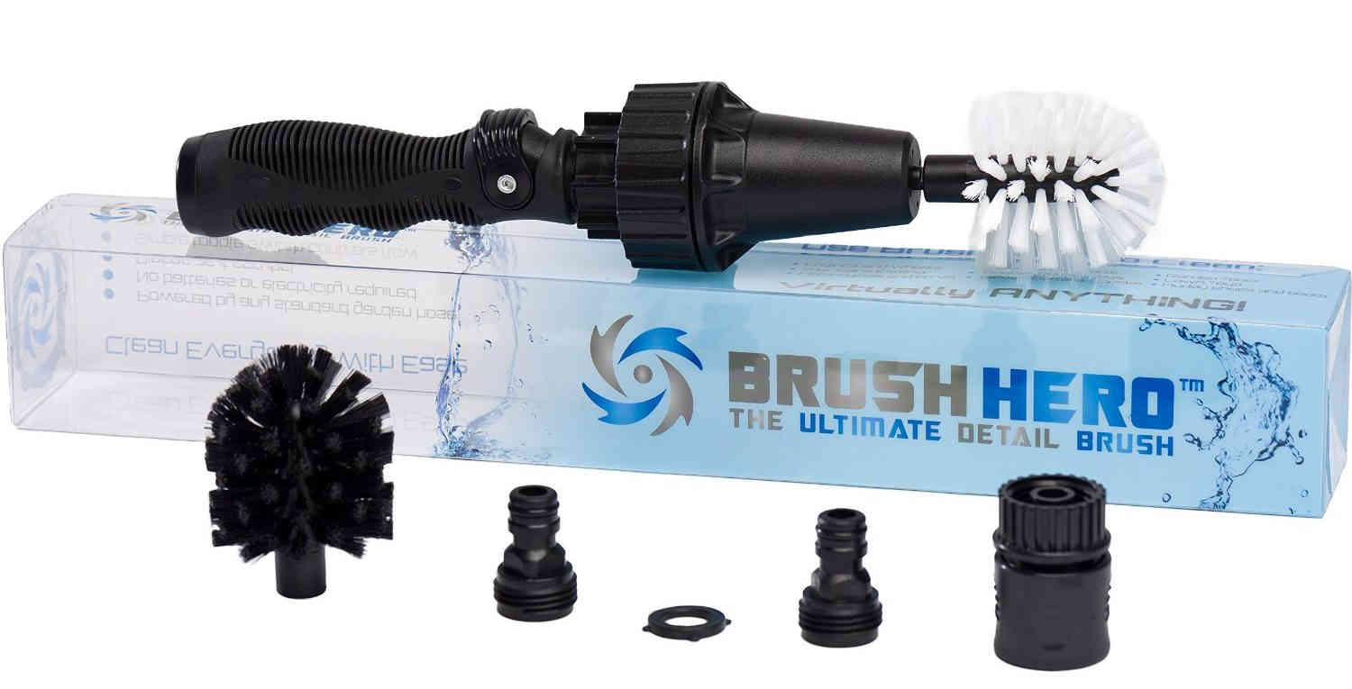 Brush Hero Pro Review-Powered Cleaning Tool With Water-Saving