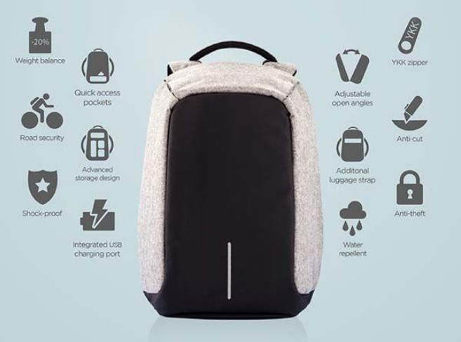 Anti-Theft Backpack benefits