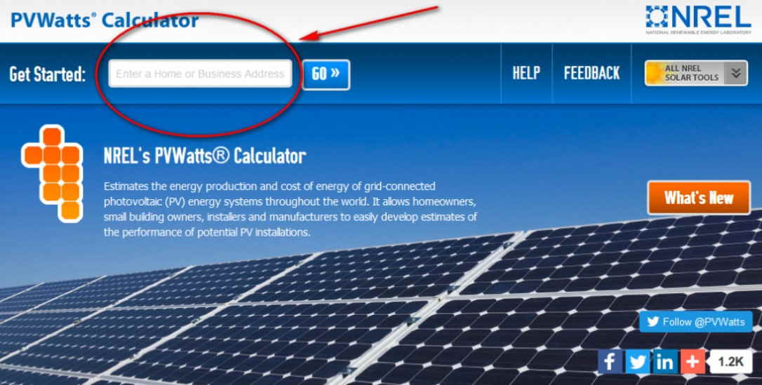 solar panels calculation
