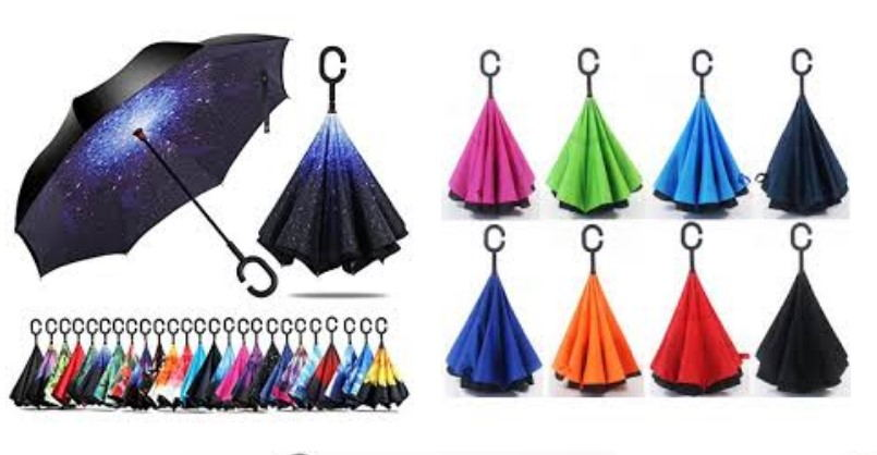 TOP 6 Best Reverse Folding Umbrellas 2018: Reviews & Buying Guide