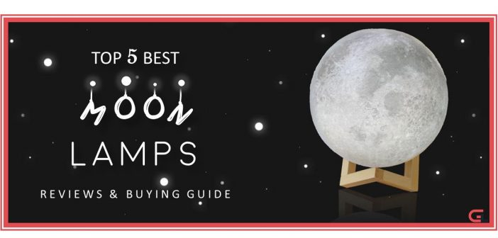 TOP 5 Best Moon Lamp: Reviews & Buying Guide