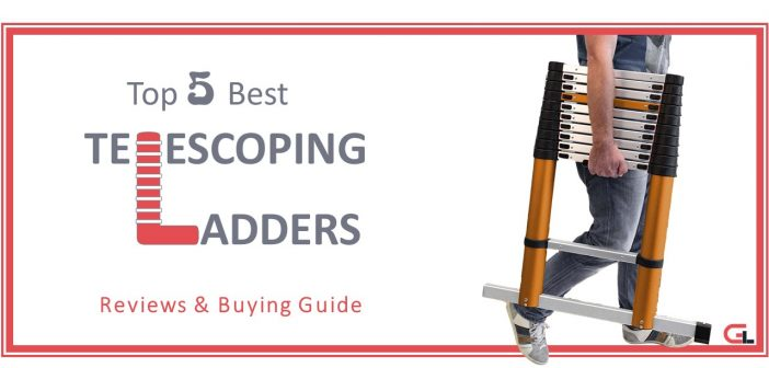 TOP 5 Best Telescoping Ladders: Reviews & Buying Guide 2018