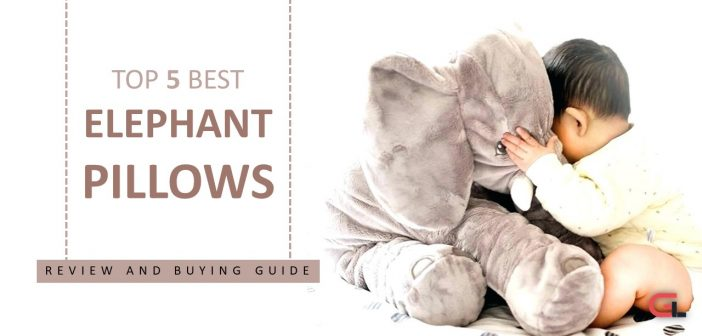 TOP 5 Elephant Pillows:  Reviews and Buying Guide 2018
