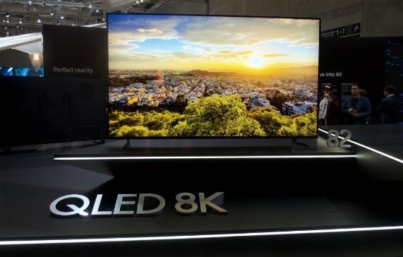 8K televisions