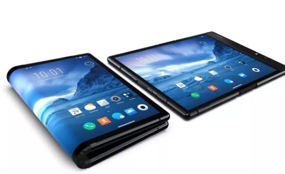 The foldable phone