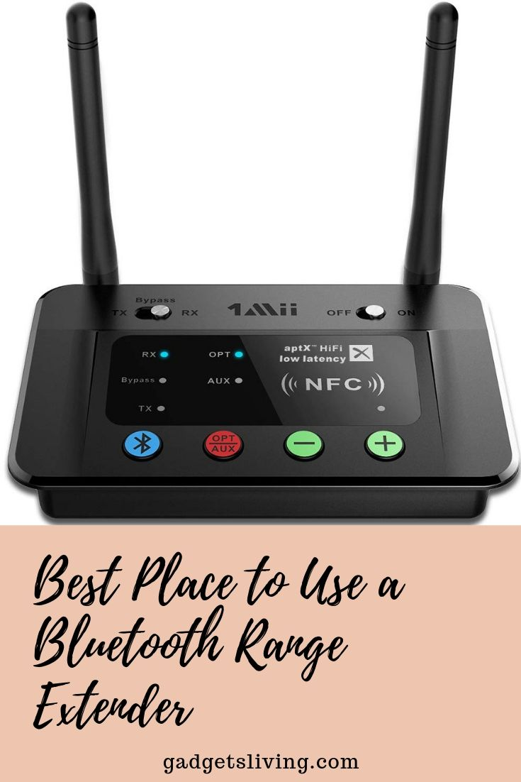 Best Place to Use a Bluetooth Range Extender