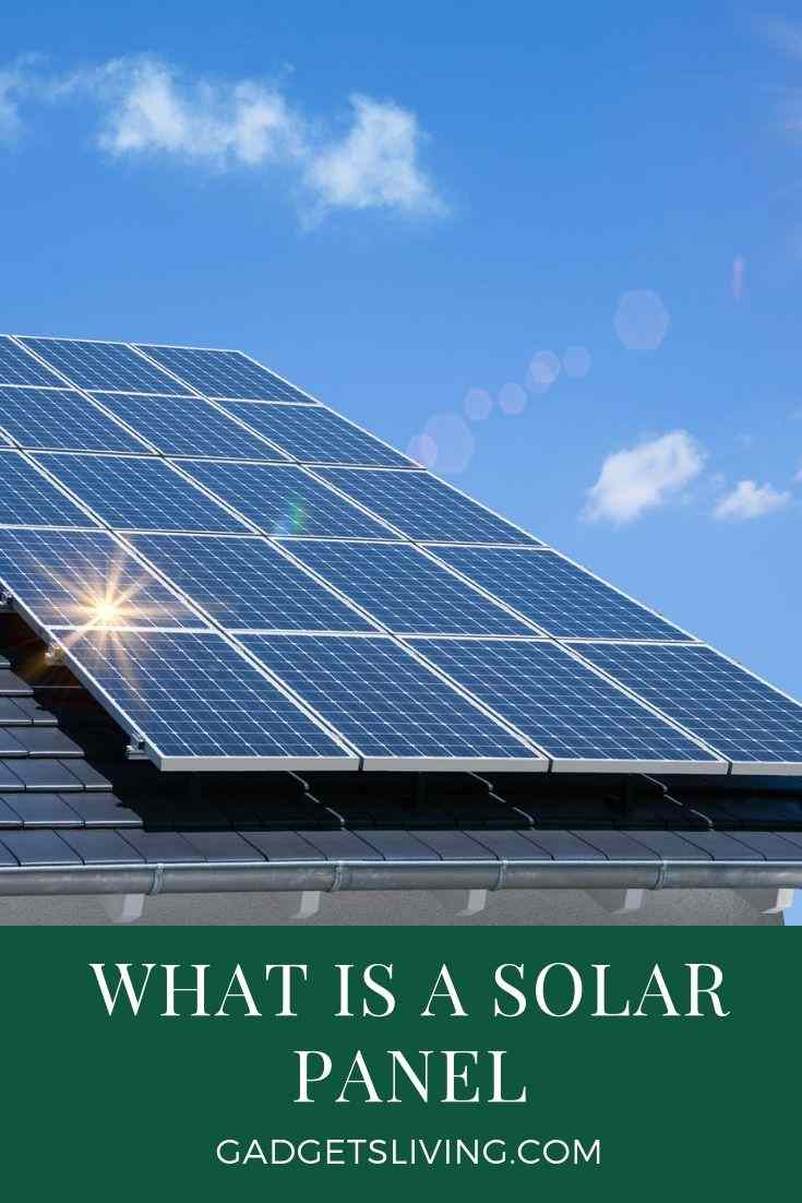 What is a Solar Panel