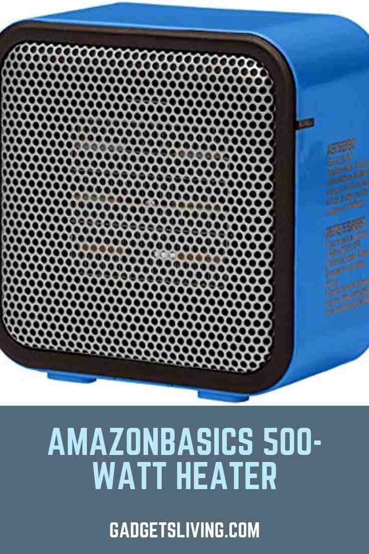 AmazonBasics 500-Watt Heater