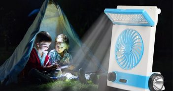 Ansee Solar Camping Fan