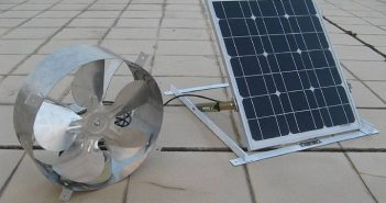 Eco-Worthy Solar Powered Attic Fan
