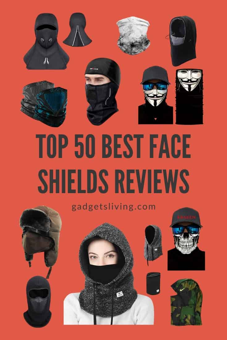 Top 50 Best Face Shields Reviews