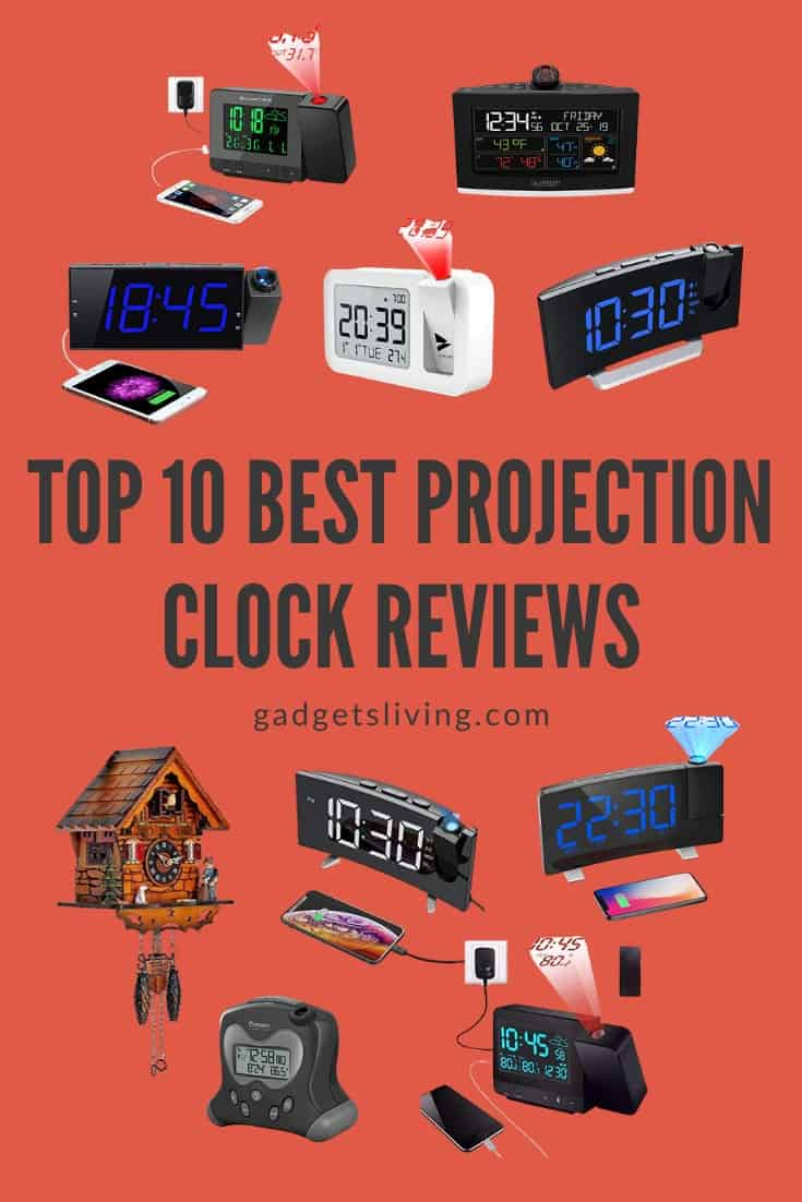 Top 10 Best Projection Clock Reviews 2