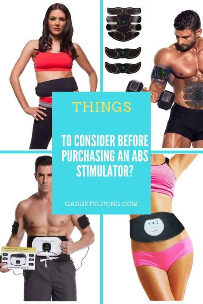 things to consider before purchasing an Abs Stimulator?
